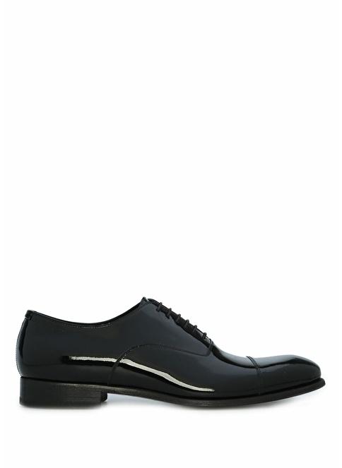 Beymen Collection %100 Deri Bağcıklı Klasik Ayakkabı Siyah